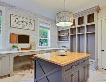 The Aurora : 2019 Clark County Parade of Homes : Mud & Craft Room