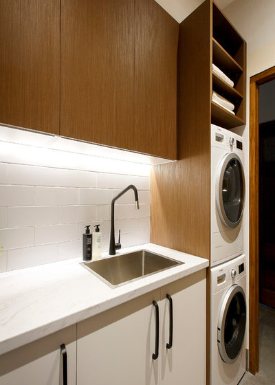 Contemporary Laundry Room by Freedom Kitchens