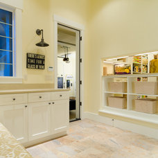Contemporary Laundry Room by Pahlisch Homes, Inc.