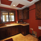 Walker Woodworking Custom Cabinets - Traditional - Laundry ...