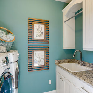 75 Beautiful Small Beach Style Laundry Room Pictures