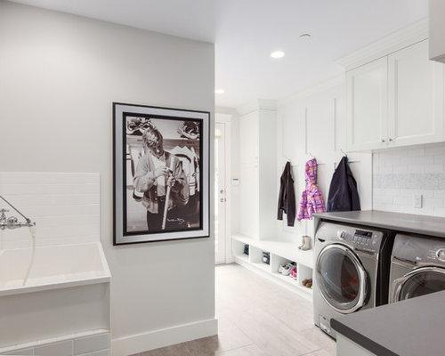 Fotos de lavaderos dise os de lavaderos con encimera de - Pilas de lavar con mueble ...