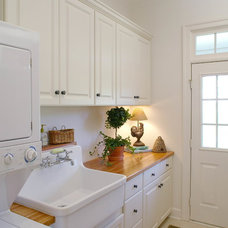 Traditional Laundry Room by Mitchell & Best Homes