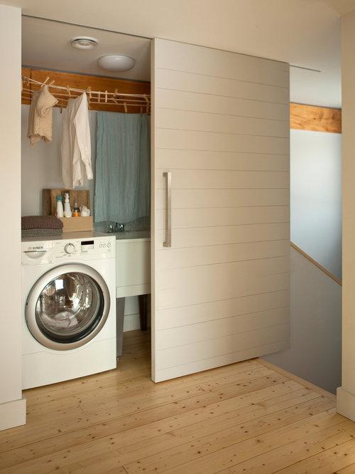 Sliding closet doors home design ideas pictures remodel for Laundry room sliding doors