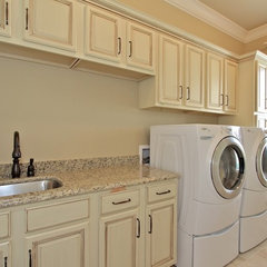 traditional laundry room by Hillside Homes Inc