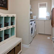 Traditional Laundry Room by Cardel Designs