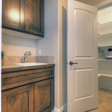 Traditional Laundry Room by Coleman Homes