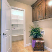 Traditional Laundry Room by Coleman Homes, A Toll Brothers Company