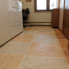 Traditional Laundry Room by Granicrete Minnesota