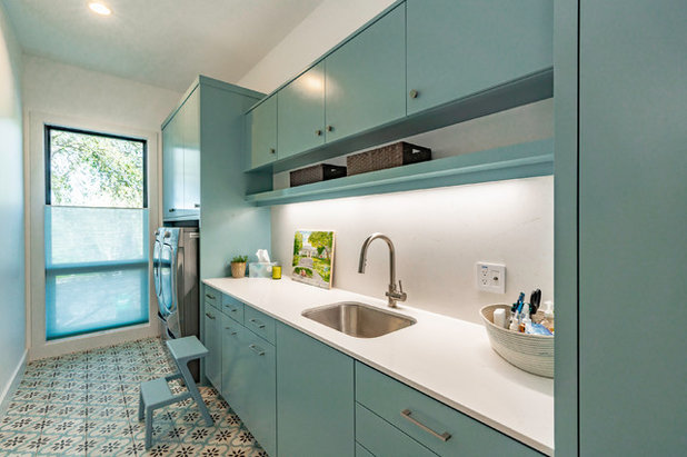 Contemporary Laundry Room by Barley|Pfeiffer Architecture