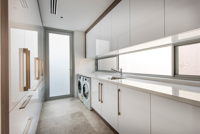 Contemporary Laundry Room by Grandwood by Zorzi