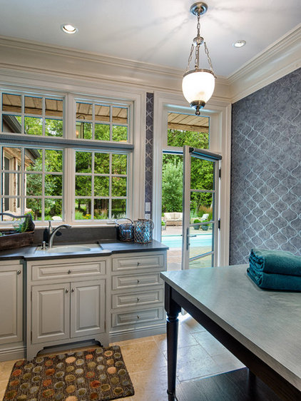 Traditional Laundry Room by Mitch Wise Design,Inc.