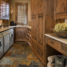 Traditional Laundry Room by The Woodshop of Avon