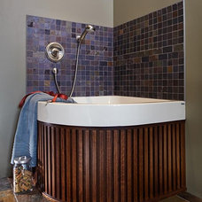 Traditional Laundry Room by Harvest House Craftsmen