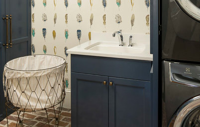New This Week: 3 Laundry Rooms With Joyful Style
