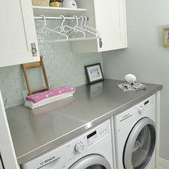 traditional laundry room by Stacy Young