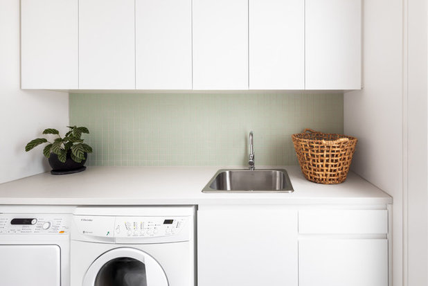 Contemporary Laundry Room by Architected