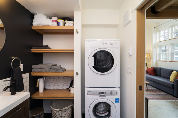 Farmhouse Laundry Room by Shelter Solutions LLC - ADU Specialist