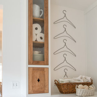 Example of a french country laundry room design in Jacksonville