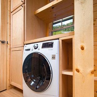 Foto di una lavanderia
