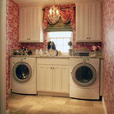 Traditional Laundry Room by Dara Barber