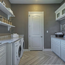 Contemporary Laundry Room by Linfield Design Associates