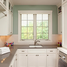 Traditional Laundry Room by John Kraemer & Sons