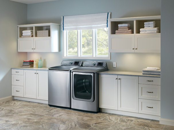 Contemporary Laundry Room by Samsung