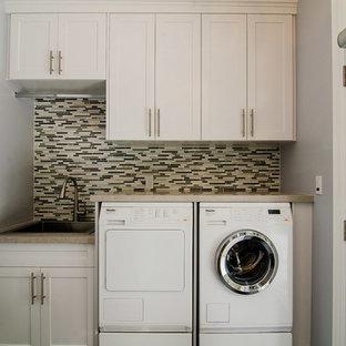 Toronto Custom Home Laundry and Mudroom