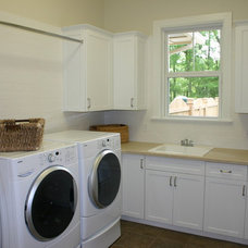 Modern Laundry Room by Carson's Cabinetry & Design
