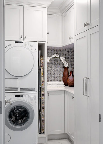 Traditional Laundry Room by Tony Colangelo Photography