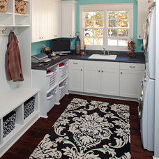 Traditional Laundry Room by Dillard-Jones Builders, LLC