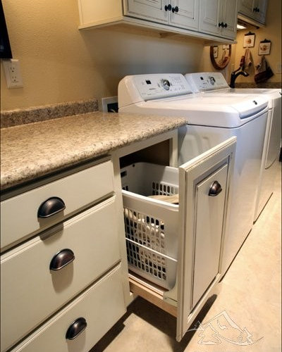 Discount Kitchen Cabinets Portland Oregon: Pull-Out Laundry Basket Home Design Ideas, Pictures