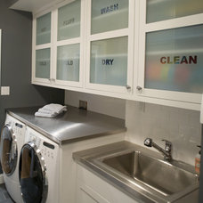 Contemporary Laundry Room by Artistic Designs for Living, Tineke Triggs