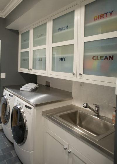 Traditional Laundry Room Traditional Laundry Room