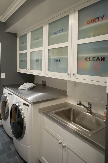 Traditional Laundry Room by Artistic Designs for Living, Tineke Triggs