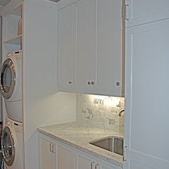 traditional laundry room by Avalon Interiors