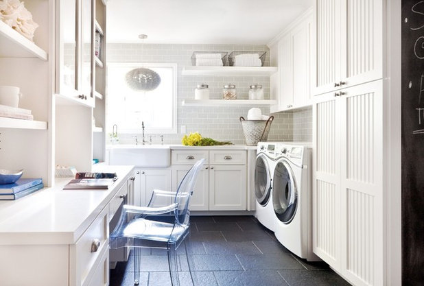 Traditional Utility Room Traditional Laundry Room