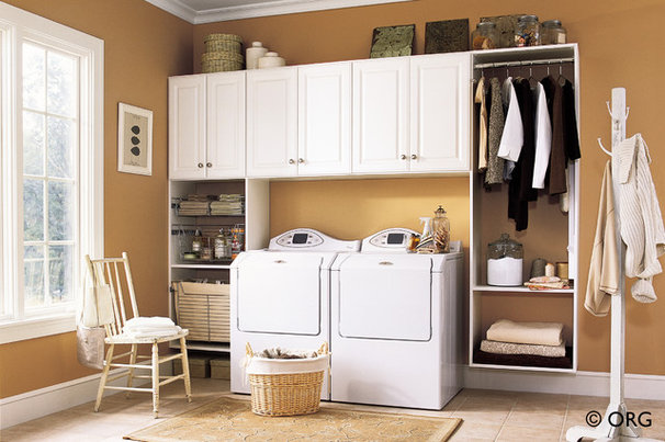 Traditional Laundry Room by Colorado Space Solutions