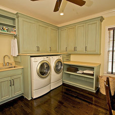 Traditional Laundry Room by Designs by BSB