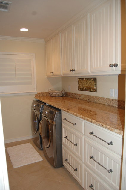 Traditional Laundry Room by Fifer Renovations