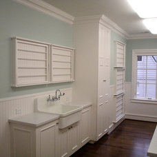 Traditional Laundry Room by Georgia Contractor Group
