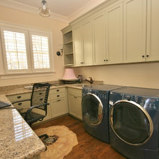 Traditional Laundry Room by Guthmann Construction