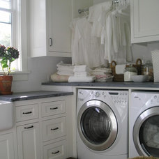 Traditional Laundry Room by Kim Woods