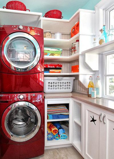 Классический Прачечная Traditional Laundry Room