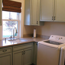 Traditional Laundry Room by Kristin Petro Interiors, Inc.