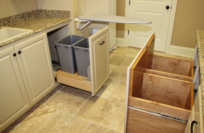 Traditional Laundry Room by Van Alan Homes