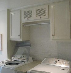 traditional laundry room by Webber Coleman Woodworks