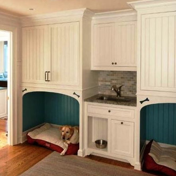 Transformation of a New England Style Home with 21st Century Embellishments