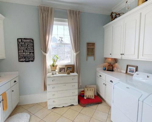 Foto e idee per lavanderie lavanderia shabby chic style con